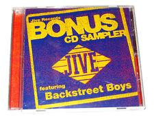 CD: Jive Records Bonus Sampler ft. Backstreet Boys (1998) Britney Spears Imajin