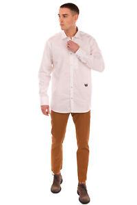RRP €230 RICH JOHN RICHMOND Shirt Size XL Embroidered Logo Long Sleeve