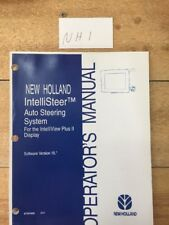 New Holland  IntelliSteer Auto Steering System Operators Manual