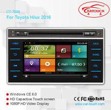 Car DVD Player GPS Navi iPod Audio Radio For Toyota Hilux 2015 2016 Free Camera
