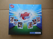 2009 HERALD SUN Album + Complete Set of 262 cards - B&F, SS, RS & caricatures
