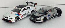 Carrera Slot Cars 1/32 BMW Audi 2 Total #30512 #30514