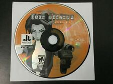 Fear Effect 2 Retro Helix PS1 Sony PlayStation Replacement Disc 1 Only