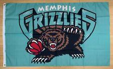 Memphis Grizzlies 3x5 ft Flag NBA Retro Vintage Throwback Banner