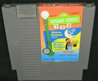 Nintendo NES CTW SESAME STREET 123  Astro-Grover Math & Ernie's Magic Shapes