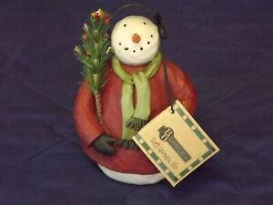 Blossom Bucket Snowman with Earmuffs - 25664 - New