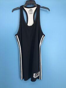 """Adidas WNBA Men's White / Black Reversible Tank Size: L +2"""""""