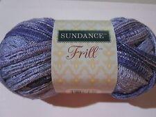 x1 Sundance Frill Ruffle Yarn   Blue Violet