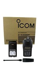 Icom F2000T 25 4W 128Ch Uhf 450-512Mhz Dtmf Radio Police Fire Ham Security Bar