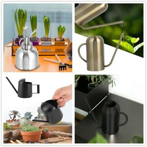 300-1500ml Stainless Steel Long Spout Watering Pot for Flowers Plants Watering