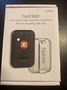 FastHelp Medical Alert Button. NO Monthly Fees. NO Landline. NO Cellphone!