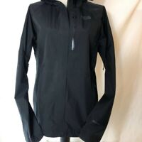 The North Face Gore Tex Womens Activewear Jacket Black Hooded Zipper L New