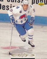 Joe Sakic 1993-94 Upper Deck #223 Nordiques Hockey Card