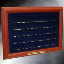 1999-2008 STATE QUARTER & 2009 US TERRITORY 56 COIN DISPLAY FRAME NEW GREAT GIFT