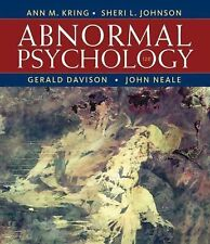 Abnormal Psychology by Gerald C. Davison, John M. Neale, Sheri L. Johnson and An
