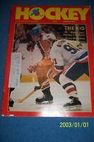 1982 HOCKEY Magazine EDMONTON Oilers WAYNE GRETZKY THE KID Free/Ship