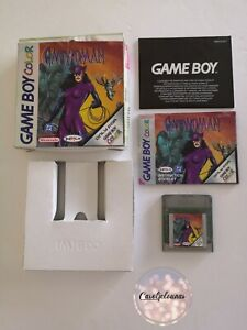 Catwoman (Nintendo Game Boy Color, 1999) Jeu Gameboy Dc Comics avec boite EUR