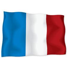 """FRANCE French Flag car bumper sticker decal 6"""" x 4"""""""