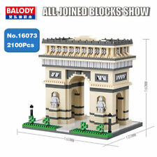 Balody Architecture Triumphal Arch Micro Diamond Mini Building Blocks Toy