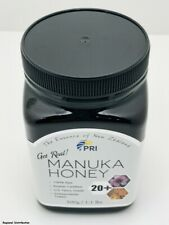 Pacific Resources bio active 20+ manuka 1.1LB jar 1 jar honey