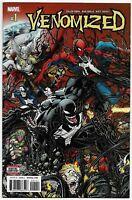 Venomized #1 Marvel comic 1st Print 2018 unread NM