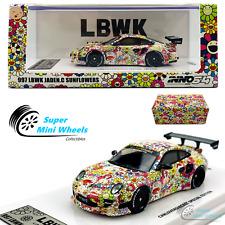 INNO64 1:64 - Porsche 997 LBWK Jaden.C Sunflowers - Special Edition