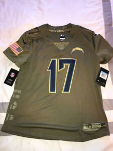 New Los Angeles Chargers Philip Rivers Salute to Service 882760-235 Women Size M