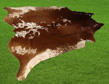 """100% New Cowhide Rugs Area Cow Skin Leather (60"""" x 62"""") Cow hide SA-2506"""