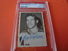 1972 OPC o-pee-chee Deckle Edge #40 Jean Ratelle psa 8 New York Rangers