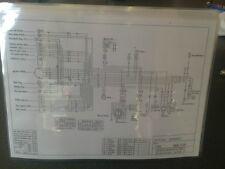 SUZUKI T/GT 500 Wiring diagram.