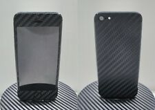 iPhone 5 3M Di-Noc Black Carbon Fiber Vinyl Full Body Skin sticker * For i5 *