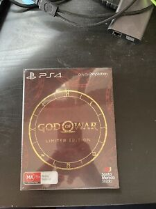 *RARE* God of War PlayStation 4 Limited Edition *BRAND NEW* * SEALED*