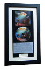 AC/DC Let There Be Rock CLASSIC CD Album TOP QUALITY FRAMED+EXPRESS GLOBAL SHIP