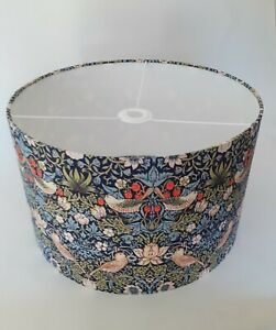 Handmade Ceiling Lampshade William Morris Strawberry Thief