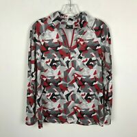 Spyder Pullover Kids Youth Size XL 18 Multicolor Lightweight Polyester 1/4 Zip