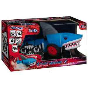 Remote Control Stunt Shark Rock & Roll Stunt Runs & Tail Wags Gift For Kids 3+