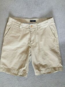 GANT Herren Shorts, kurze Hose, Beige, Bermudas, 100 % Baumwolle, Gr. 32