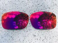 Grabado Polarizado Positivo Espejo Rojo Lentes de Repuesto Para Oakley Twoface