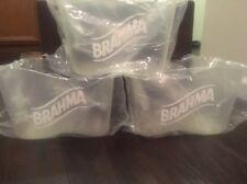 Brahma Hard Plastic Beer Buckets BRAND NEW Set Of 3