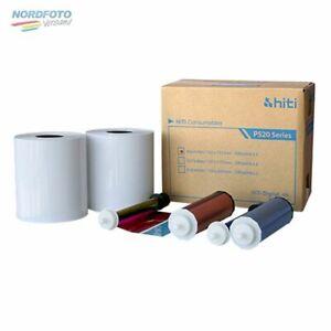HiTi Fotopapier / Thermopapier 10x15cm (4x6) für HiTi P520 / P525L 2x 500 Blatt