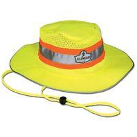 Ergodyne GloWear 8935 Ranger Hat, Hi-Vis Lime, L/XL 23260, NEW, FREE SHIPPING