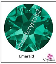 EMERALD Green 20ss 5mm 72 pieces Swarovski Crystal Flatback Rhinestones 2088