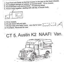 SGTS MESS CT5 1/72 Diecast WWII Austin K2 NAAFI Van