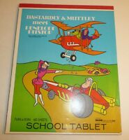 Vtg Dick Dastardly Muttley Penelope Pitstop Notebook Hanna Barbera Wacky Races