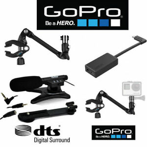 EXTERNAL PRO DOLBY HD MICROPHONE For GoPro HERO6 + AAMIC-001 + AMCLP-001 CLIP