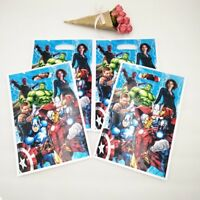Avengers Hulk Iron Man Thor Kids Happy Birthday Party Bags Loot Bag