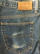 VTG 90s Tommy Hilfiger Mens Denim Blue Jeans 38 x 30 Leather Label