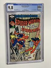 Spider-woman 20 cgc 9.8 wp marvel 1979 Spider-man Meets