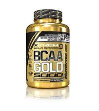 BCAA 120capsulas NUTRYTEC XTREM GOLD Aminoacidos ramificados