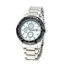 Newyork Army Men's Black Bezel Stainless Strap White Dial Watch NYA2658 COD Payp